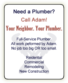 Best Plumbing Services by Adam Grout serving Wheaton, Winfield, Glen Ellyn, Warrenville, Lombard, Naperville and West Chicago